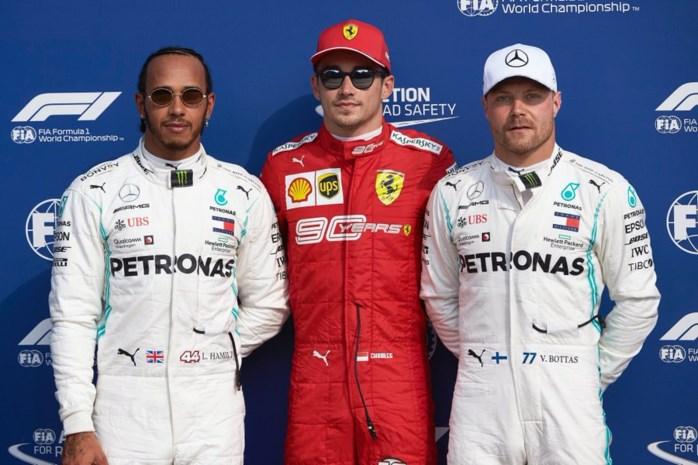 GP van Italië: startgrid