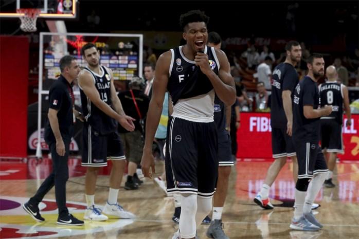 Amerika naar kwartfinale op WK basketbal, Greek Freak met Griekenland gewipt