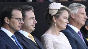 Bart De Wever ontvangt vorstenpaar voor herdenking van Bevrijding