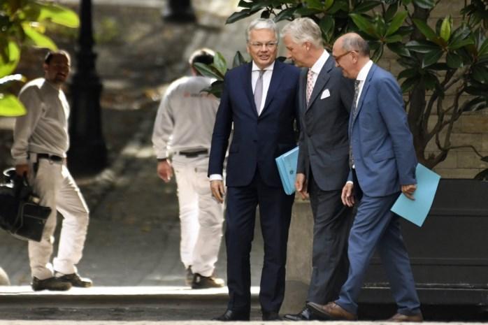 Koning Filip verlengt opdracht van informateurs Vande Lanotte en Reynders opnieuw, Groen valt af