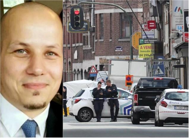 """Politieagent neergeschoten in Luik: """"Een laffe daad tegenover een collega die gewoon zijn werk deed"""""""