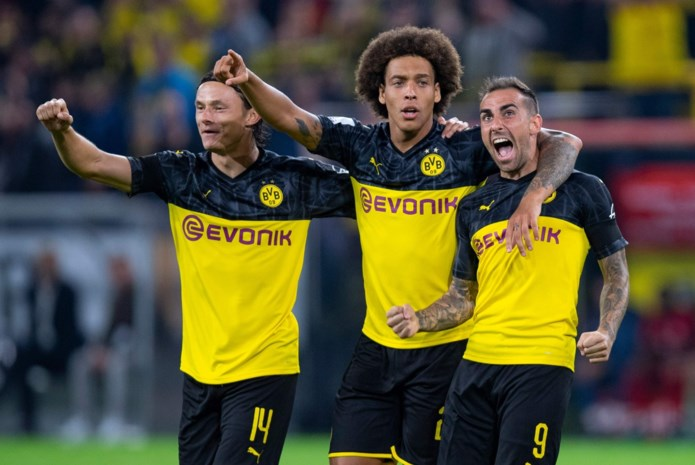 Dortmund mag hopen op snelle comeback van Axel Witsel