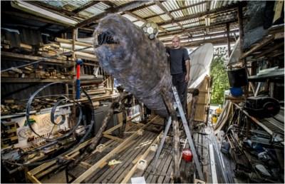 Lichtstoet Rozenberg viert 135ste stoet met speciale lichttechnieken