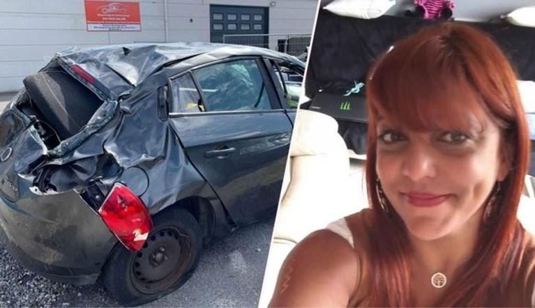 Marie zat tijdens hittegolf zes dagen geklemd in haar auto na ongeval, nu kan ze stilaan weer stappen