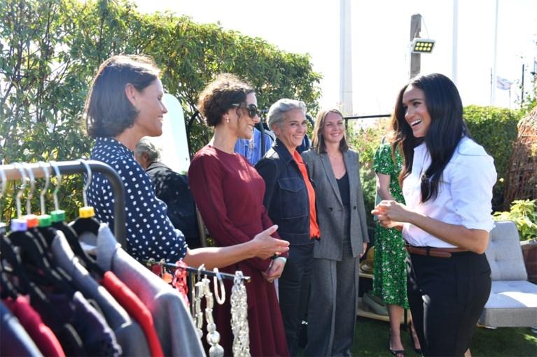 Meghan Markle stelt kledinglijn voor werkzoekende vrouwen voor