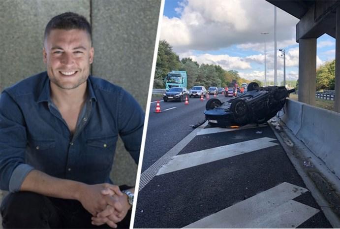 """Viktor Verhulst reageert na ongeval met Range Rover: """"Ik besef dat het anders had kunnen lopen"""""""