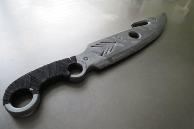 <strong></strong>Man komt met 'groot mes' terug van Comic Con en wordt overmeesterd door politie