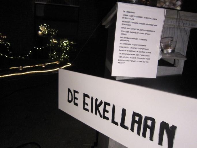 IN BEELD. Lichtjeswandeling zorgt voor magie bij volle maan in Pulderbos