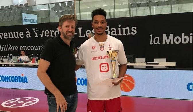 Landolt Cup in Zwitserland is voor Telenet Giants Antwerp