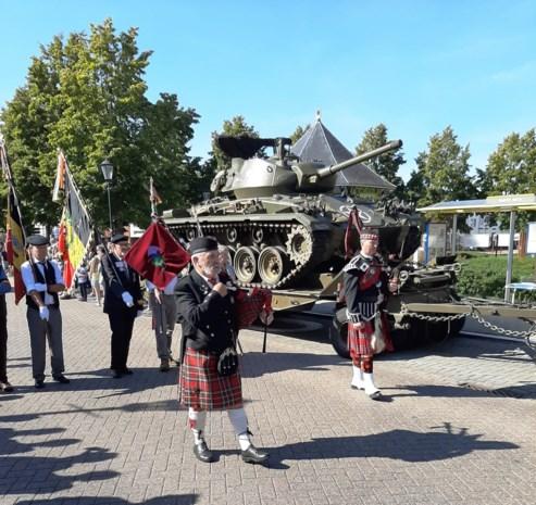 Indrukwekkend eerbetoon aan Schotse bevrijders in Meerhout