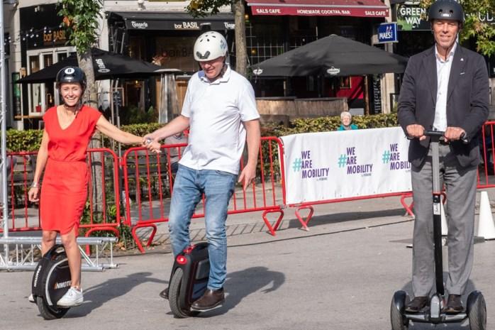 We nemen steeds meer de fiets naar het werk