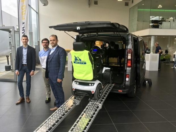 Scootmobiel of elektrische rolstoel kan mee in taxi