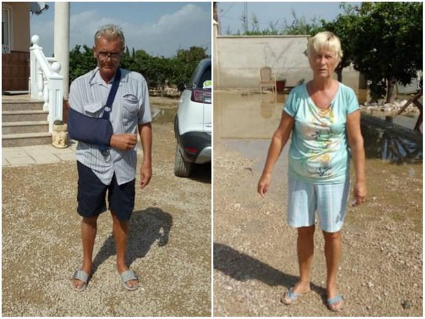 """Brechtenaars geëvacueerd door noodweer in Spanje: """"We moesten door de modder waden"""""""