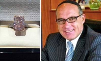 """Het mysterie van de roze diamant: """"Werd peperdure steen stiekem verwisseld door speurders?"""""""