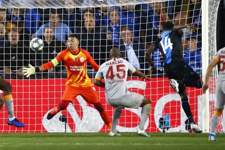 Gemiste kans: sterk Club Brugge doet zichzelf te kort met 0-0 tegen Galatasaray