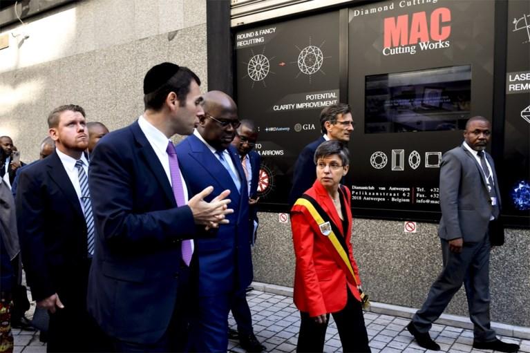 Congolese president brengt bezoek aan Antwerpen