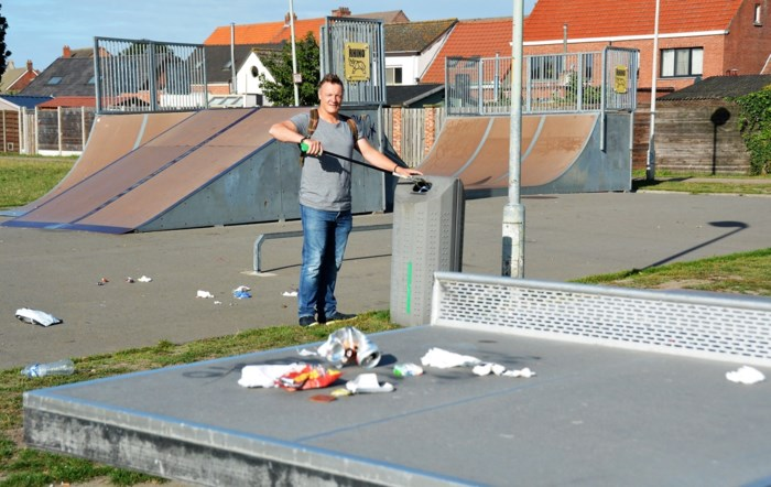 Dave Corten organiseert eerste 'Polder Clean Up'