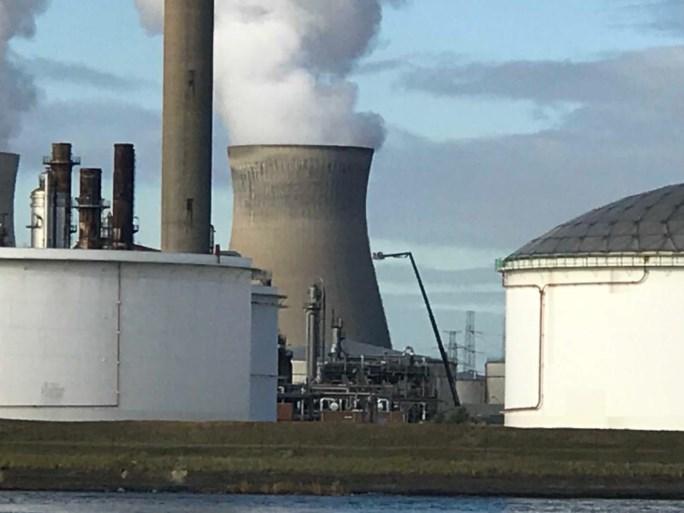 Brand bij raffinaderij Antwerpse haven is onder controle