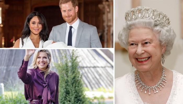 ROYALS. Waarom baby Archie op café zat en de Queen bezoek kreeg van een aapje