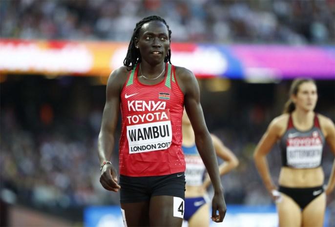 Twee Keniaanse atletes mogen in laatste instantie niet naar WK atletiek wegens te veel testosteron