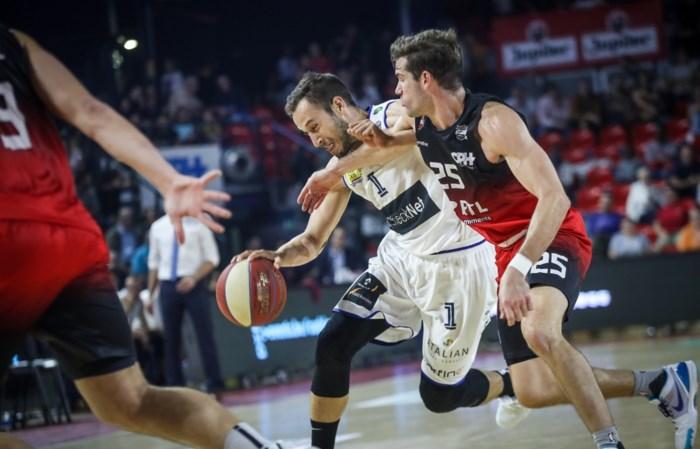 Charleroi start met nederlaag aan Euromillions Basket League, Limburg United wint van Brussels