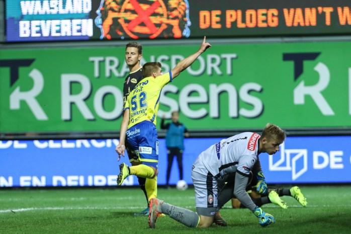 Moeskroen niet alleen aan de leiding: Henegouwers blijven steken op 1-1 in Beveren