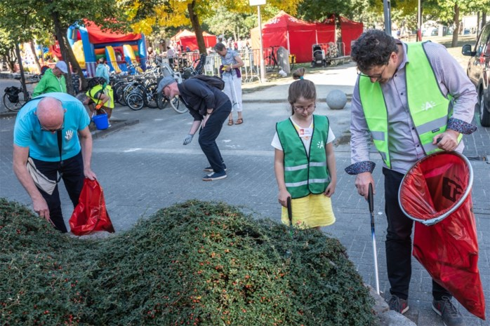 Feest voor Antwerpse Straatvrijwilligers op Wereld Opkuis Dag