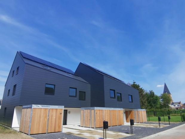 Woonveer bouwt vier bijna-energieneutrale woningen