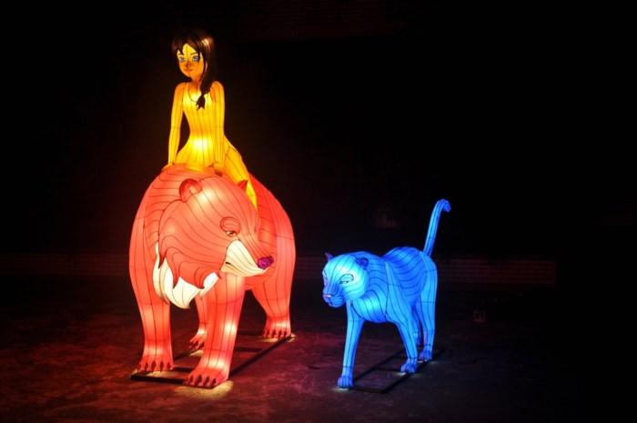 China Light Zoo viert vijfde verjaardag als Jungle Book Light Festival