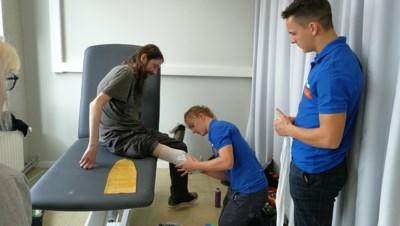 """Studenten Orthopedie nemen gloednieuwe klinische ruimtes in gebruik: """"Opmeten voor protheses kan nu veel professioneler"""""""
