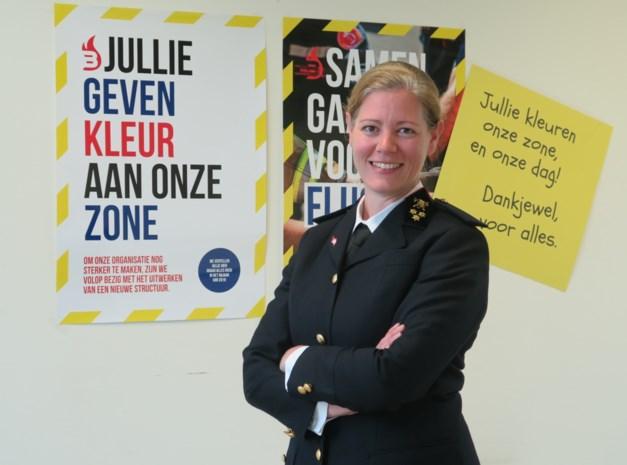 Brandweerzone Rand krijgt eerste vrouwelijke brandweercommandant van het land