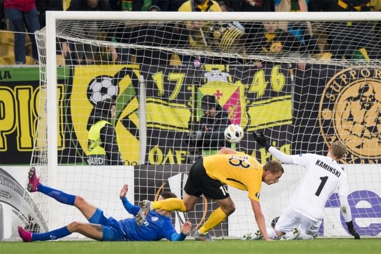 AA Gent blijft steken op gelijkspel in Oekraïne maar blijft wel mee op kop in Europa League
