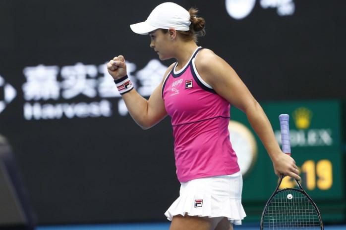 Barty bereikt na felle strijd met Bertens finale op WTA Peking