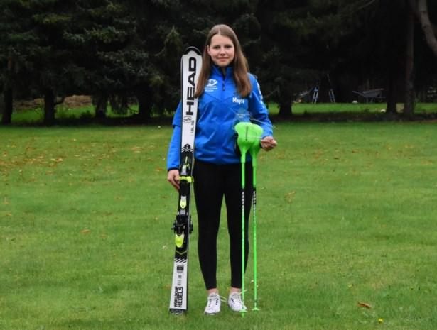 """Mayté Boumans wint goud op BK skiën: """"Te vroeg om met Olympische Spelen bezig te zijn"""""""