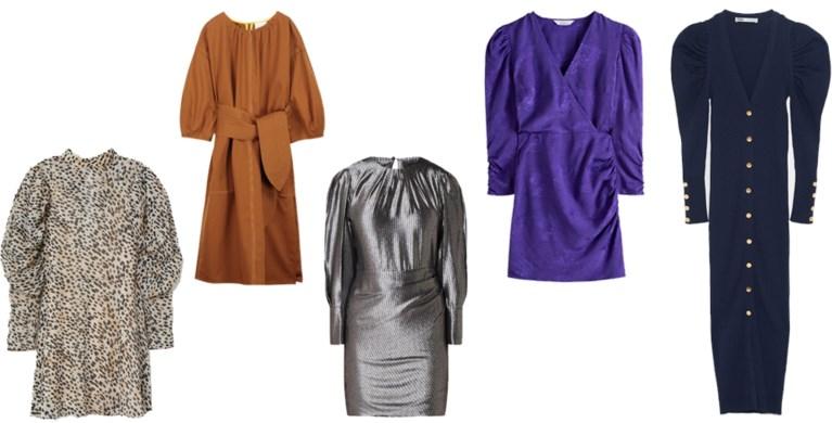 Hit van de herfst: de jurk met pofmouwen