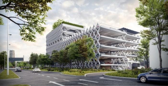 Parkeertoren met panoramisch dakterras moet tegen zomer 2022 klaar zijn