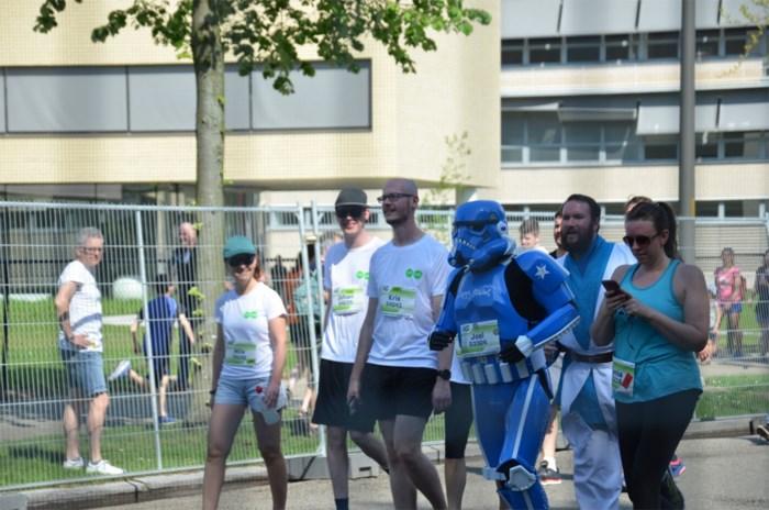 The Blue Trooper aanwezig op zesde editie Edegemse Levensloop