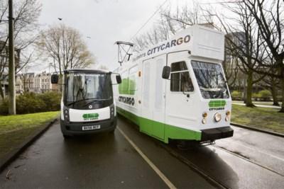 Vrachtvervoer in de stad: worden uw schoenen binnenkort geleverd met de tram?