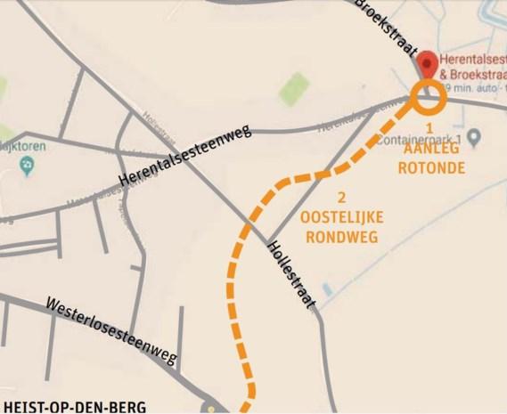 Gemeente Heist-op-den-Berg moet rondweg zelf bekostigen zonder subsidies