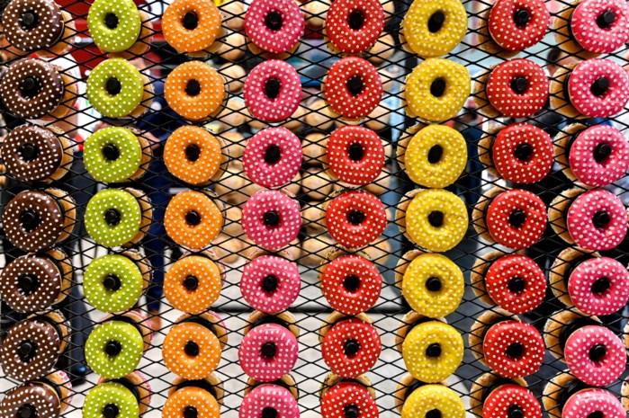 Donuts kopen met Belgische franken