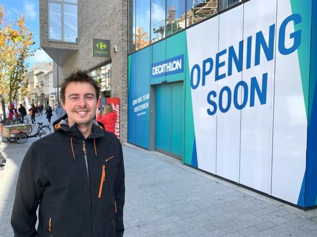 Decathlon opent eind november stadswinkel in Bruul