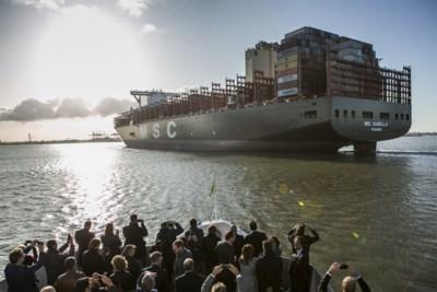 """IN BEELD. Recordschip doet feestelijke bisronde in Antwerpen: """"Historisch moment"""""""
