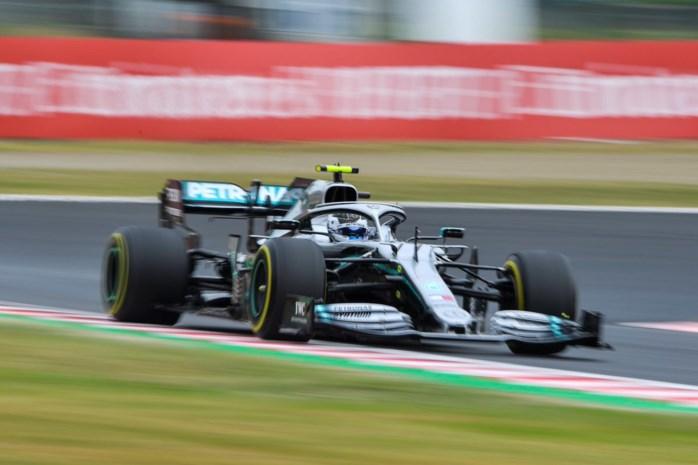 Mercedes domineert eerste oefensessie GP van Japan
