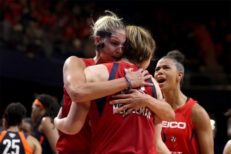 """MVP van WNBA-finale maar toch blijft Emma Meesseman bescheiden: """"Ben gewoon speelster die haar ploeg heeft geholpen"""""""