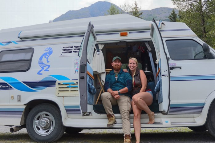 Wereldberoemd op Instagram: Robert (28) en Liesbet (27) nemen volgers mee op huwelijksreis
