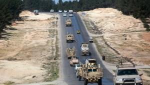 Turkse soldaten beschieten Amerikaanse troepen