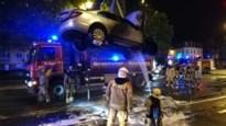 Wagen brandt uit na kortsluiting