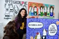 """Antwerps-Joodse kunstenares exposeert in hotelcomplex Yust: """"Mijn werk heeft een hoog Prozac-gehalte"""""""