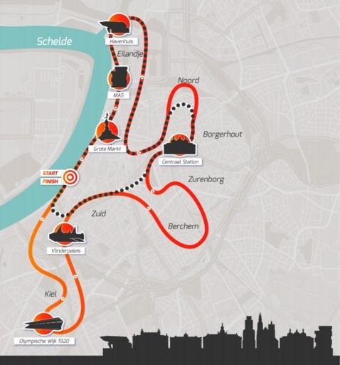 Marathon van Antwerpen wordt 'Night Marathon' en krijgt totaal nieuw parcours