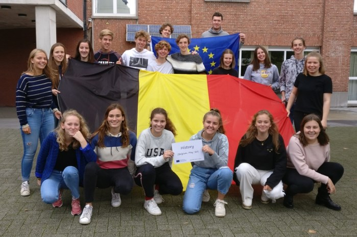 Leerlingen OLVP trekken door Europa